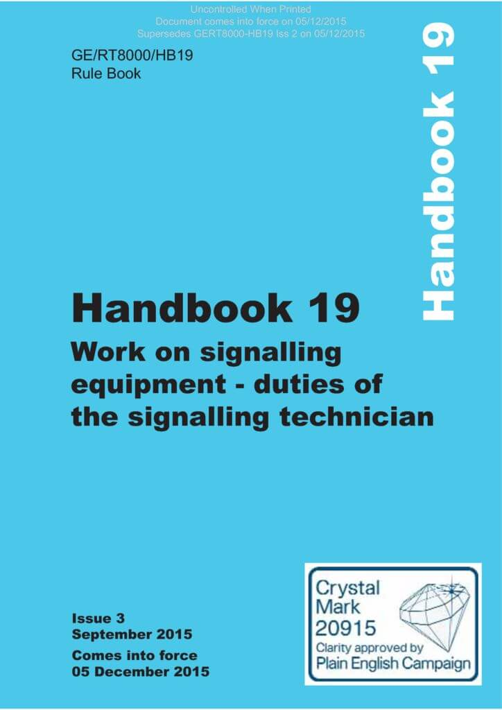 19-Work-on-signalling-equipment-duties-of-the-signalling-technician