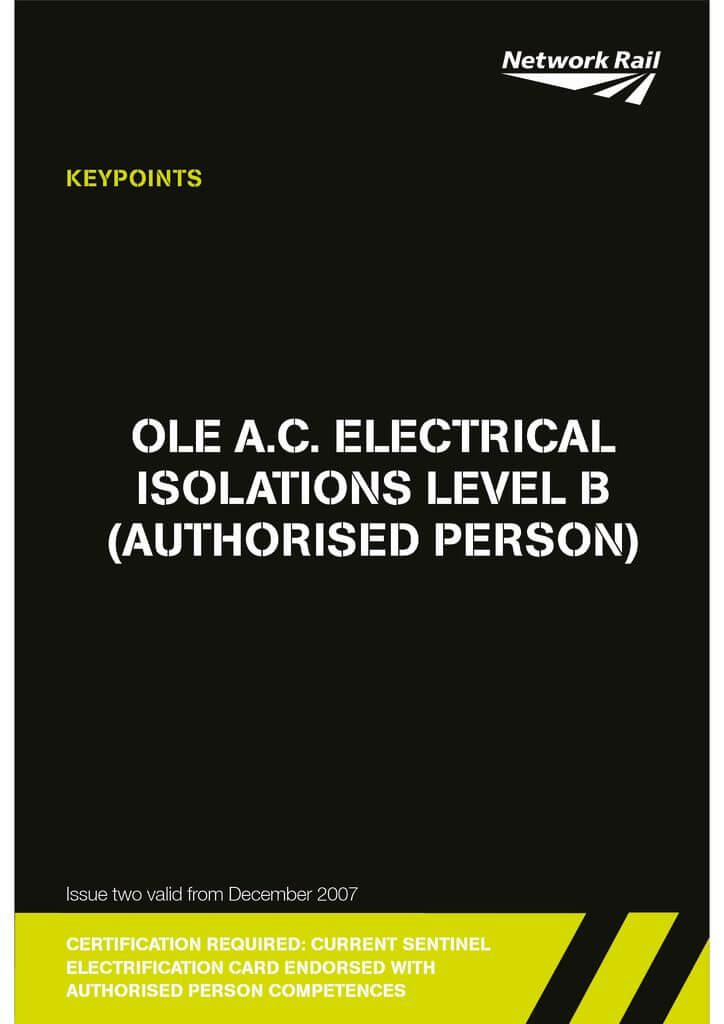 2-AP-O.L.E-AC-Electrical-Isolations-Level-B