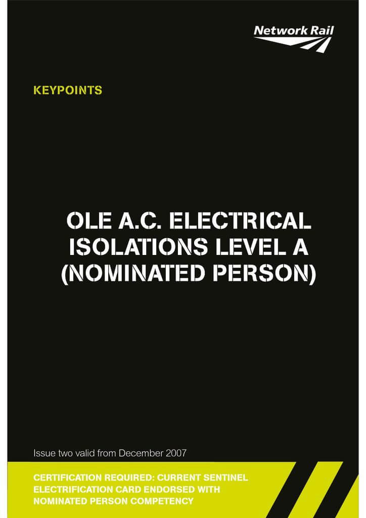 8-NP-O.L.E-AC-Electrical-Isolations-Level-A